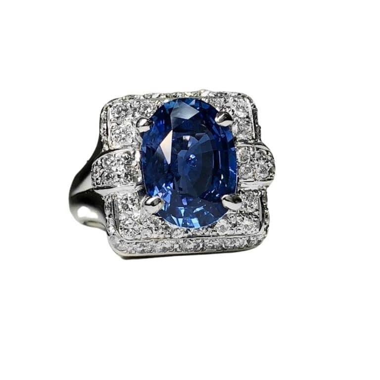 Saph Ring 3.65 CT