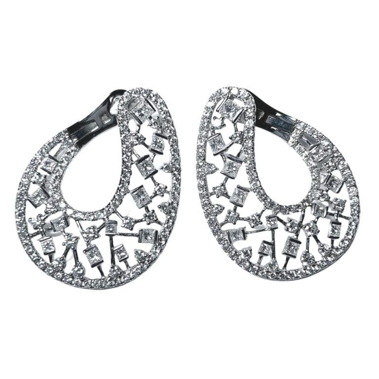 Diamond Wrap Earrings